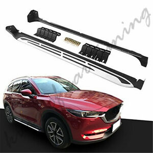 Aluminium Nerf Bars Running Boards Side Steps Fits for Mazda CX-5 CX5 2017-2020