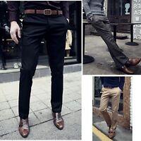 Pantaloni Uomo Taglio Classico Slim Fit - Man Classic Straight Pants PAMAN03 P