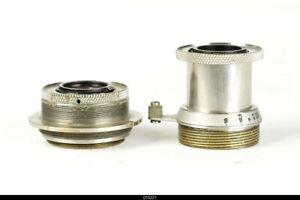 * Lens Leica Nickel Elmar 3,5/3,5cm + Elmar 3,5/50mm For Leica  Parts