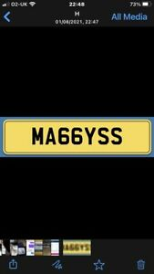 MAGGYSS Private Number Plate