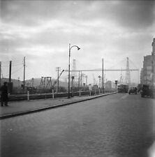 NANTES c.1950 -Pont Transbordeur Autos Loire-Atlantique- Négatif 6 x 6 - PdeL 24