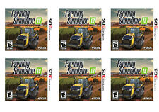 Lot of (6) Farming Simulator 18 (Nintendo 3DS, 2017) ~ BRAND NEW SEALED