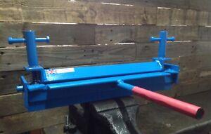 Sheet Metal Bender , Folder, Bench , Former Vice Mounted Tool 300mm