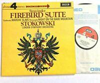 Decca PFS 4139 STRAVINSKY / FIREBIRD SUITE / STOKOWSKI 1968 Vinyl LP NM/VG+