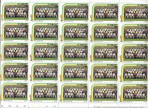 1986 St Vincent - World Cup Mexico - England Squad - Full Sheet - Unhinged Mint