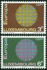 Luxembourg 1970 Mi 807-08 ** Europa Cept