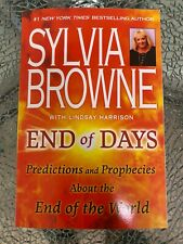 End Of Days Predictions and Prophecies by Sylvia Browne PAPERBACK New