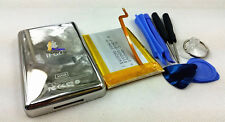 upgrade 1900mAh battery metal back case housing flex for ipod 5th video 30gb