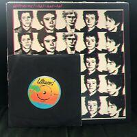 "ULTRAVOX HA!-HA!-HA! HA HA HA RARE CLASSIC 1977 PUNK NEW WAVE VINYL LP WITH 7"""