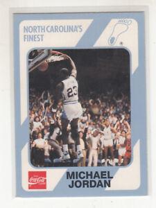 MICHAEL JORDAN 1989-90 UNC Collegiate Collection Coke #16 Chicago Bulls Mint