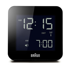 Braun Funk-reisewecker LED Snooze Funktion Licht BNC009BK-RC