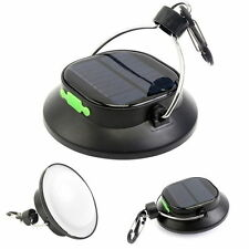 200LM LED Camping Lamp Tent Hanging Solar Energy Light 18650Battery USB Recharge