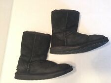 Ugg Australia Classic Short Black Winter Boots 5825 Womens Size 5