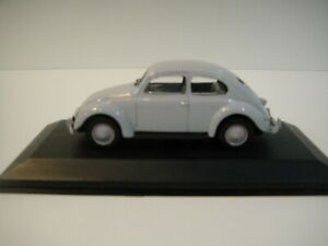 --1/43 MINICHAMPS. VOLKSWAGEN 1200 Beetle Split window 1949 (grey).
