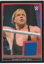 WWE 2015 Topps Event Worn Shirt Relic Card Jack Swagger