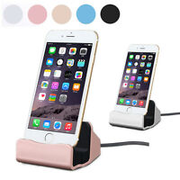 Chargeur Station Dock Bureau Sync Data Charge Stand Support Pr iPhone  5 6S ipad