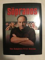 FREE SHIPPING ~The Sopranos: The Complete First Season DVD Set James Gandolfini
