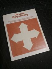 Personal Programming guide manual for Texas Instruments TI 58/59 - 1977