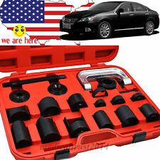 21PC ball joint adaptor Kit Press CAR  Brake PIN C Frame Remover Installer w box