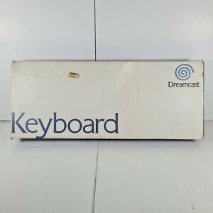 Official Keyboard - Sega Dreamcast boxed