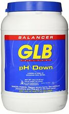 GLB 71242 pH Down Pool Water Balancer Pool and Spa Products 10 lbs New