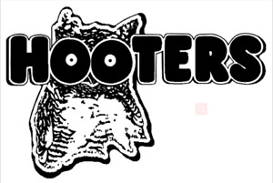 Hooters LED Sign 12*8 Inch