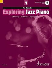 Exploring Jazz Piano Vol. 1. Harmony Technique & Improvisation (SCHED12708-96).