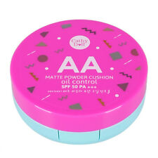 Cathy Doll AA Matte Face Powder Cushion Oil Control Spf50 Facial Reduce Wrinkles No.#23 Natural Beige