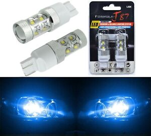 LED Light 50W 7440 Blue 10000K Two Bulbs Front Turn Signal Replacement OE