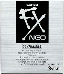 SANTEN Sante FX Neo Eye Drops Cool 12ml Eyedrops Japan Import
