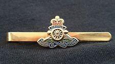Royal Artillery Military Tie Clip