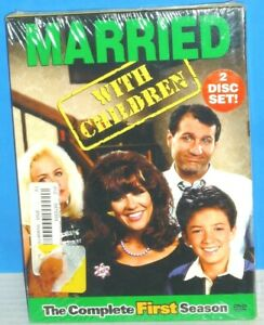 Married...With Children - The Complete First Season (DVD, 2003) Brand New!!!