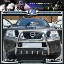 NISSAN NAVARA PATHFINDER D40 BULL BAR 5-AXLE NUDGE BAR 2010+Up AMAZING OFFER NEW