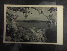 1943 Riga Latvia Germany Picture Postcard Cover Mountain Scene