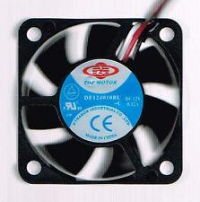 TopMotor 40mm x 40mm x 10mm Dual Ball Bearing 3Pin Case Fan, (DF124010BL-3G)