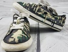 22d1ac8bc2b1 Converse One Star Camouflage Camo Infants Kids Shoes Size 9 Great Used  Condition