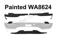 Painted White Rear Bumper Face Bar Top Lower Pads 2000-2006 SUBURBAN TAHOE YUKON
