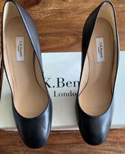 LK Bennett Black Leather Court UK 6 39 BNWB Odd Sizes Left 38 Right 39