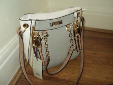 BNWT River Island Grey Embossed chain Handbag / tote / grab handles / shoulder