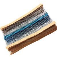 300Pcs 1/4W 30 Values 1% Metal Film Resistors Carbon Film Assortment Kit Set Hot