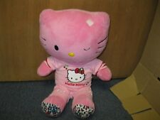 Hello Kitty Plush Stuffed Doll Pink build a bear Rare