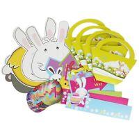 Easter Egg Hunt Set Masks Basket Pointers Art Craft Kids Fun Hunt Gifts