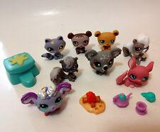 LPS Littlest Pet Shop Lot of 8 chinchilla Skunks Koala Fairy Bear Racoon
