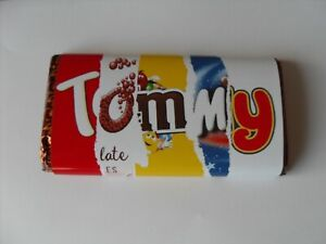Novelty Chocolate Bar Wrapper / chocolate, personalised name / word requests