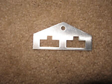 WILLIAMS BALLY GOTTLIEB PINBALL MACHINE (2,3) TARGET RESET METAL LIFT BRACKET!