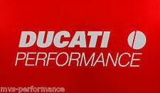 Ducati Performance Racing Autocollant Revêtement Sticker 370x93mm Blanc