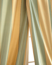 100% silk taffeta stripe drapes (also sold by Neiman Marcus) Joli
