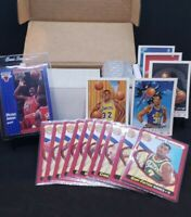 1991'-92' Fleer Basketball Set w/Pro Visions Inserts & Rookie Sensations Sub Set