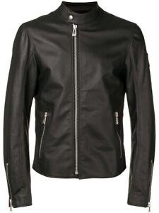 NWT Belstaff Arnos Cafe Racer Biker Leather Jacket RRP $2500