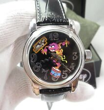 """MUPPETS """"Animal"""",Disney,Big Date Automatic Movement,Mint In Box,MENS WATCH R3-05"""